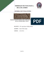 Informe Clasificacion Suelos Cusco