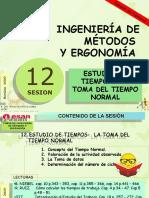 Sesión 11 ESTUDIO DE TIEMPOS  LA TOMA DEL TIEMPO NORMAL (3)