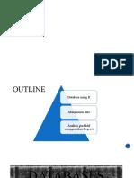 Databases,manajemen data dan analisis prediktif