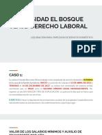 LIQUIDACIÓN EMPLEADA DE SERVICIO DOMESTICO
