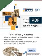 Estudios investigación Epidemiológica
