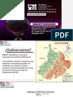 Cómo pertenecer al branch Santanderes PMI