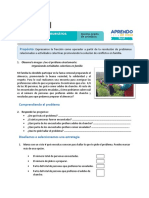 FICHA MATEMÁTICA SESIÓN 1 EXP 2 QUINTO GRADO SETIEMBRE 2020