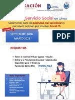 PRESENTACION CURSO EN LINEA SERVICIO SOCIAL