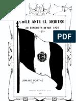 Chile ante el arbitro su conducta desde 1820.pdf