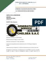 CARTA MENBRETADA CHELSEA - micro empresa
