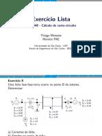 Exercício Lista - SEL0348 - Cálculo de curto-circuito cc10