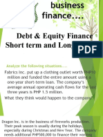 debt-and-equity-financingshort-and-long-term-loan
