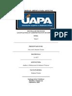 Análisis y Elaboración de Informes Técnicos 03