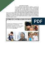 POBLACIÓN EN COLOMBIA Y RAZAS