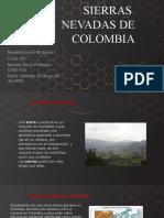 Sierras Nevadas en Colombia