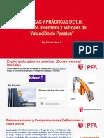 Sesión-Planes de Incentivos y Métodos de Valuación de Puestos