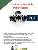 Presentación Contexto de la administración