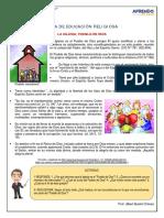 Ficha 3° La Iglesia Pueblo de Dios
