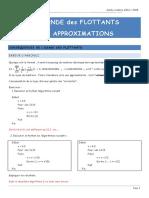 ApproximationsFlottants