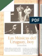 Las musicas del uruguay, hoy
