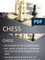 CHESS REPORT PPT
