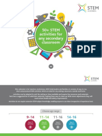 50+ STEM activities for any classroom - Secondary