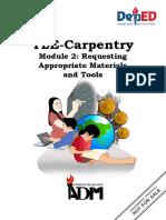 RO- TLE 7 8 Carpentry Module 2