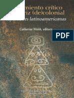 Walsh C-Pensamiento crítico y matriz (de) colonial.pdf