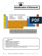 Periodic Classification of elements-1