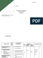 planificare pe unitati grupa pregatitoare B Tamaseni