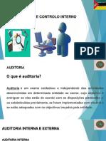 Auditoria e Controlo Interno - APRESENTAR