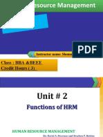 02- Human Resource Management (Week 1)