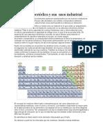 Metales tabla periodica