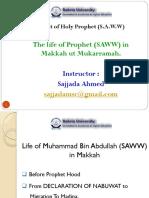 Seerat of Holy Prophet (S.A.W.W) I ( Makki life ).pdf