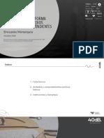 Informe monarquía PMI 2020
