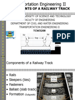 2. Components of a Railway Track