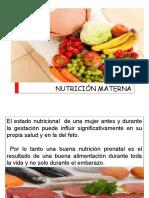 2. Nutrición Gestante 2018 I