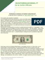 Simbolismo Occulto Nel Dollaro Statunitense
