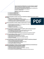 QCM Microbiologie (Internat)