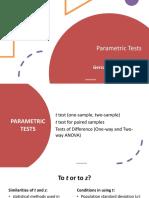 08 Parametric Tests
