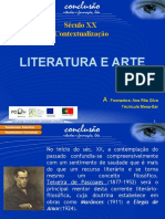 literatura e arte sec.xx