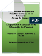 Historia de educación en Panamá
