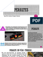 CALCULO DE PERALTES