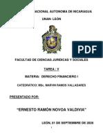 Tarea V - DERECHO FINANCIERO I - NOVOA (1)