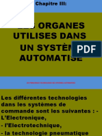 ORGANES UTILISES EN SYSTEMES AUTOMATISES
