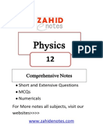 2nd year physics complete notes