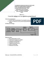 TP 1 Régulateur proportionnel