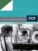 Italian Post-Neorealist Cinema - Luca Barattoni