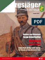 Blutberg Col di Lana. Zwischen Ortler und Adria Der Kampf um das Kronland Tirol. MythAABos und Wahrheit Sepp Innerkofler