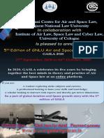 GASLA 2020 (5th Edition) Flyer