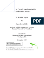 Drews 1999 Wildlife in Costa Rican Households - HSI Report