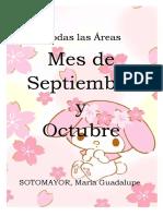 Secuencia Didáctica de Septiembre y Octubre de LENGUA - SOCIALES y CONSTRUCCION