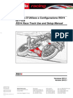 Manuale Setting Chassis RSV4