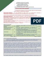 Foro Individual Mercadeo B 1er Per - Lineamientos (25%)